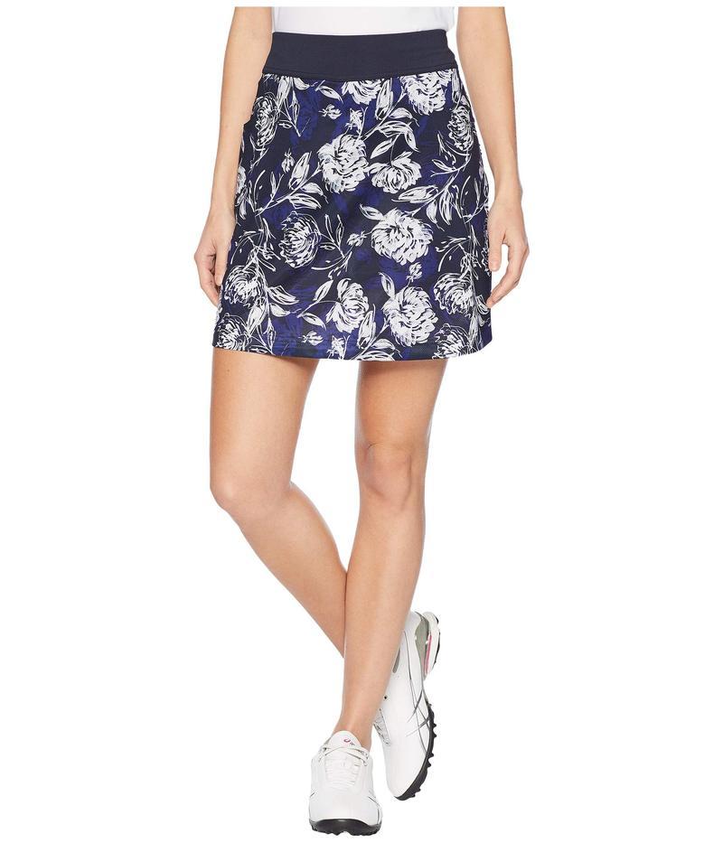 キャラウェイ レディース スカート ボトムス Tropical Floral Print Knit Skort Peacoat