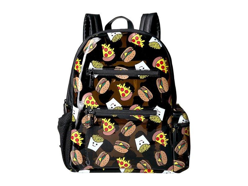 サムエデルマン レディース バックパック・リュックサック バッグ Junk Food Backpack Black Jelly/Black PU