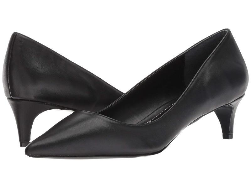 チャールズ・デイビッド レディース ヒール シューズ Kitten Black Leather