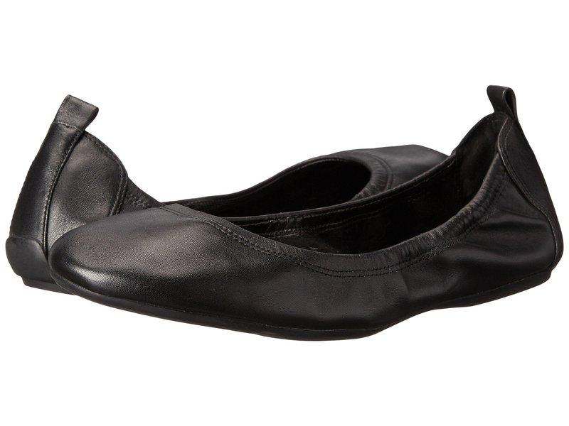 コールハーン レディース サンダル シューズ Jenni Ballet II Black Leather
