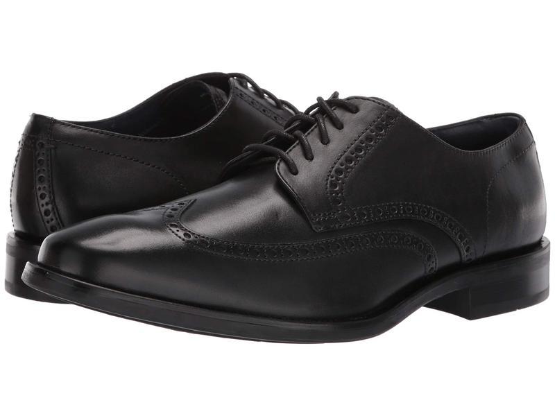 コールハーン メンズ オックスフォード シューズ Watson Dress Wing Ox Black