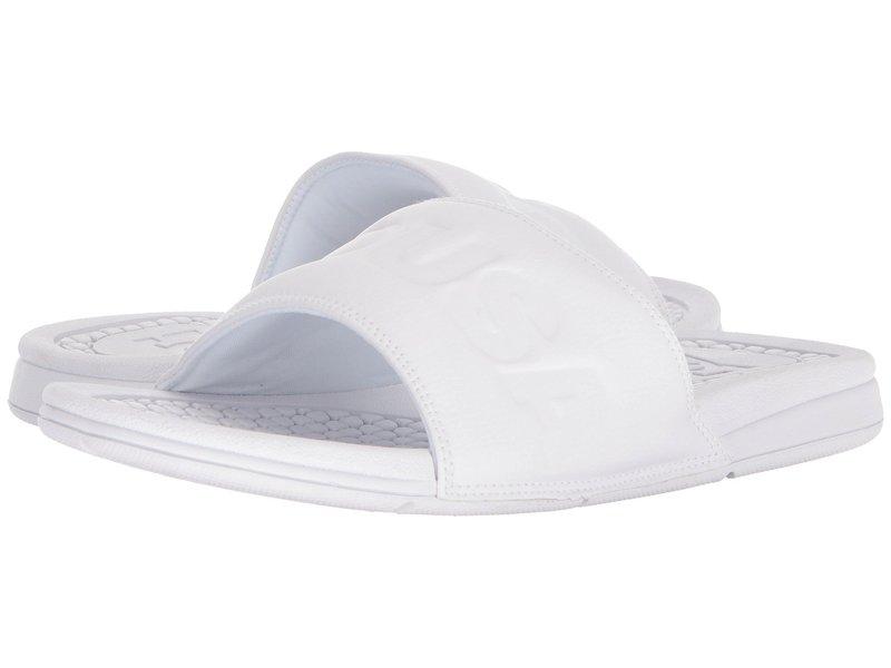 ディーシー メンズ サンダル シューズ Bolsa SE White/White