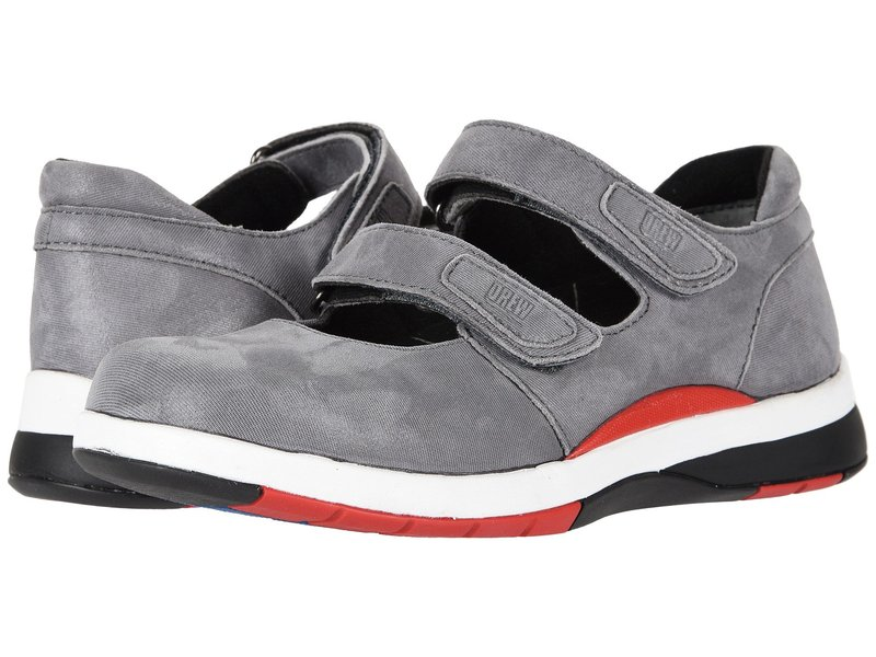 ドリュー レディース サンダル シューズ Discovery Dark Grey Microdot Leather
