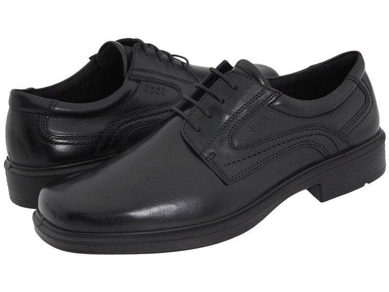 エコー メンズ オックスフォード シューズ Helsinki Plain Toe Black Leather