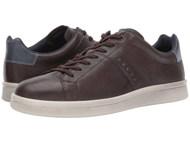 エコー メンズ スニーカー シューズ Kallum Casual Sneaker Coffee/Marine