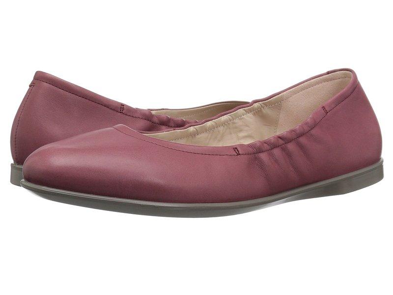 エコー レディース サンダル シューズ Incise Enchant Ballerina Petal Trim Calf Leather