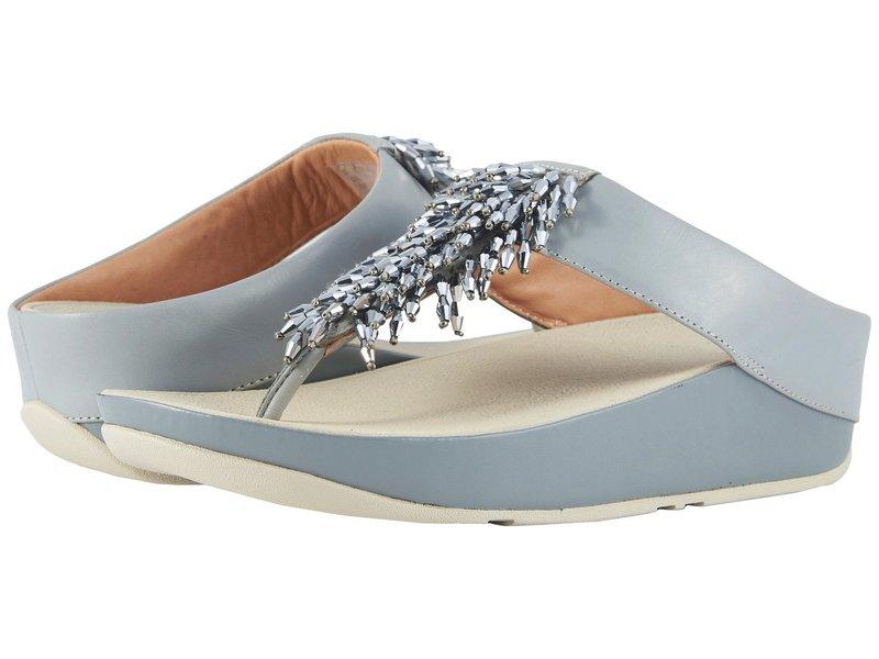 フィットフロップ レディース サンダル シューズ Rumba Toe Thong Sandals Dove Blue
