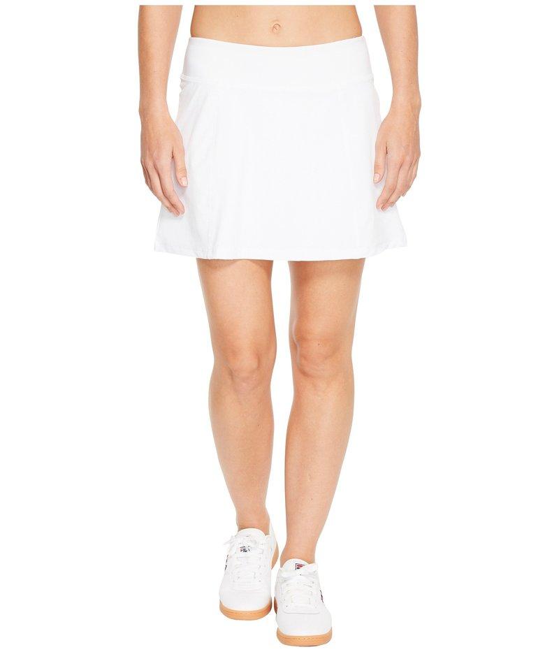 フィラ レディース スカート ボトムス Heritage Tennis Pleated Skort White