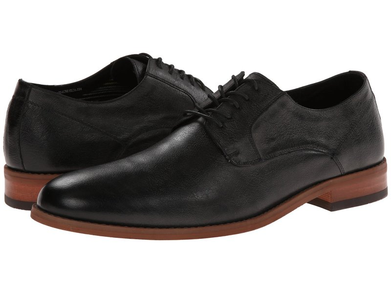 フローシャイム メンズ オックスフォード シューズ Rockit Plain Toe Oxford Black