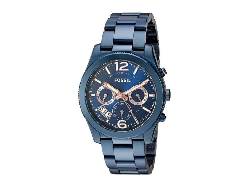 フォッシル レディース 腕時計 アクセサリー Perfect Boyfriend Sport - ES4093 Blue