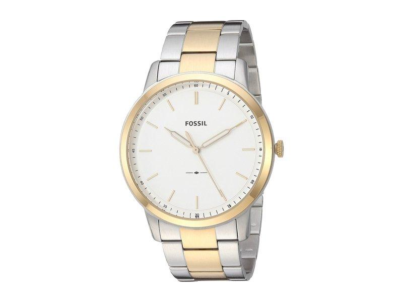 フォッシル メンズ 腕時計 アクセサリー The Minimalist - FS5441 Silver/Gold