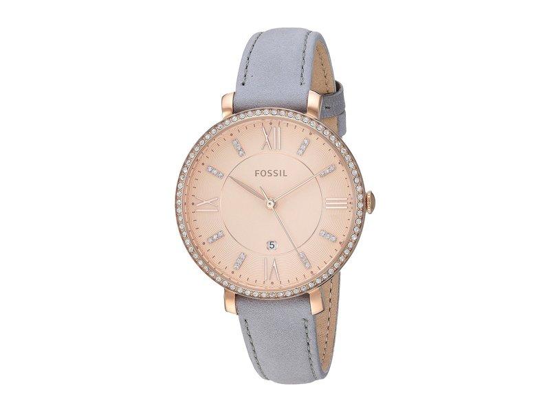 フォッシル レディース 腕時計 アクセサリー Jacqueline - ES4304 Light Gray Leather