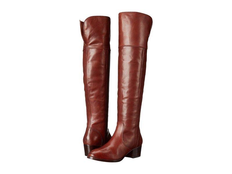 フライ レディース ブーツ・レインブーツ シューズ Clara Over-The-Knee Redwood Smooth Vintage Leather