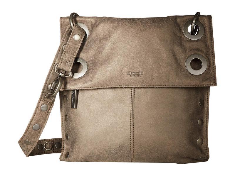 ハミット レディース ハンドバッグ バッグ Montana Crossbody Bag Pewter/Antique Nickel