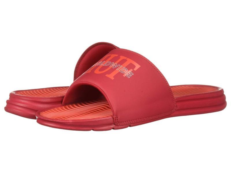 ハフ メンズ サンダル シューズ Worldwide Slide Red