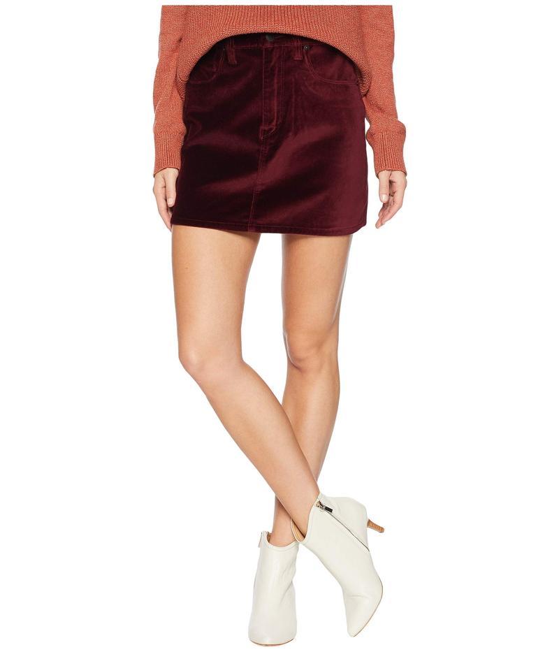 ハドソン レディース スカート ボトムス The Viper Mini Skirt in Port Port