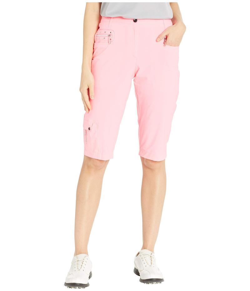 ジャイミーサドック レディース ハーフパンツ・ショーツ ボトムス Airwear Lightweight Knee Capris Luminosity Pink