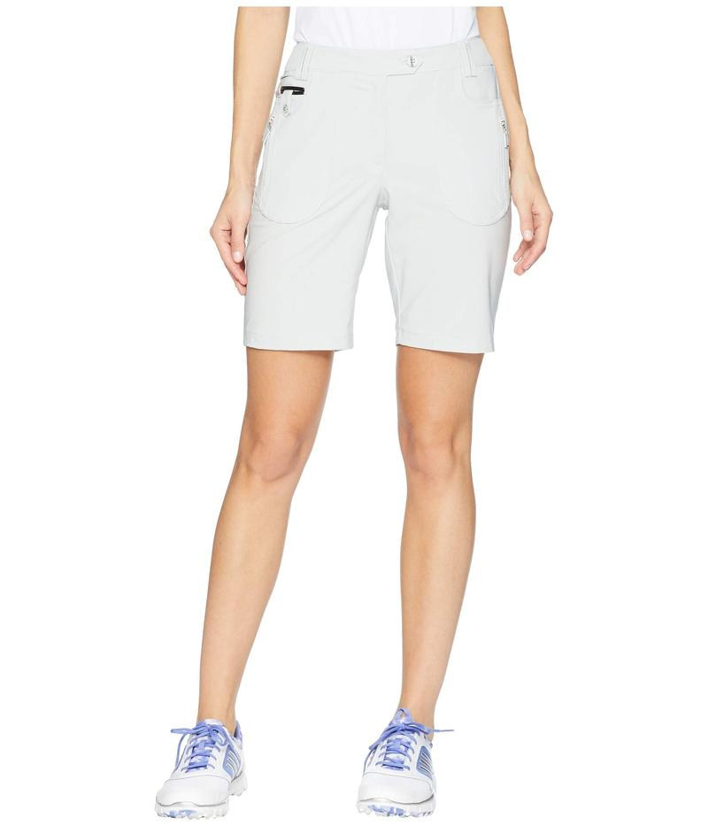 ジャイミーサドック レディース ハーフパンツ・ショーツ ボトムス Airwear Lightweight Shorts with Front Zip and Button Closure Filament Grey