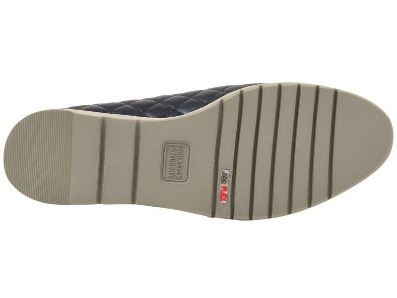 ジョンストンアンドマーフィー レディース スニーカー シューズ Portia Navy Italian Metallic Glove Leather80wmnN