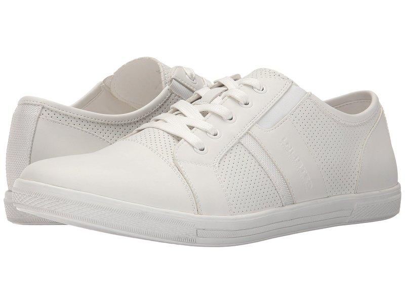 ケネスコール メンズ スニーカー シューズ Shiny Crown White