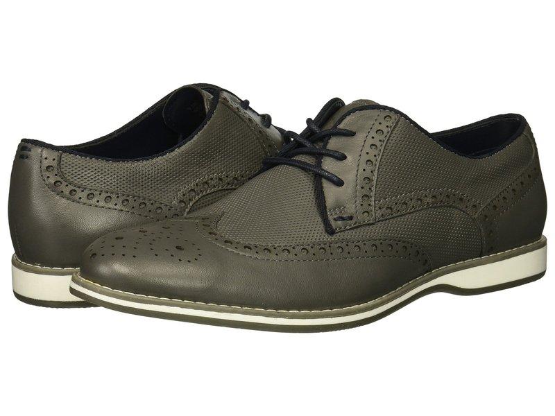 ケネスコール メンズ オックスフォード シューズ Weiser Lace-Up Grey Leather