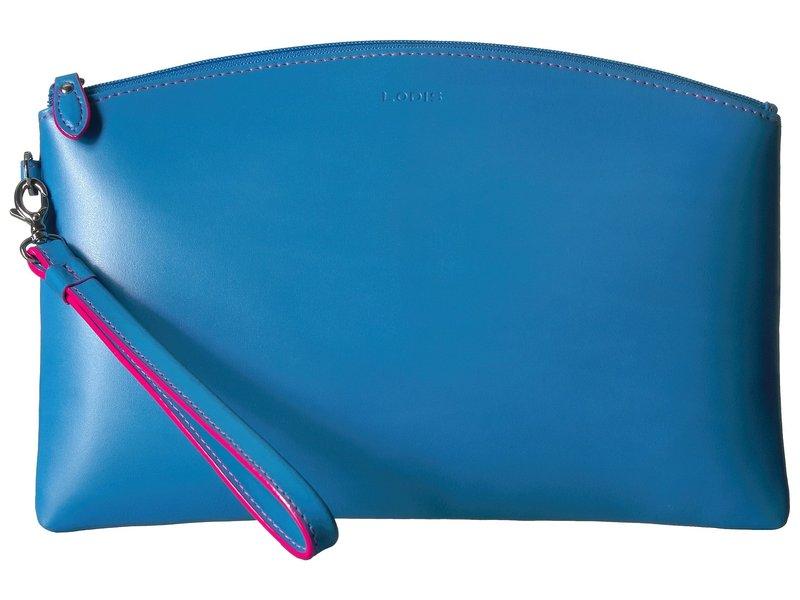 ロディス レディース ハンドバッグ バッグ Audrey RFID Miley Wristlet with Removable ID Wallet Blue/Hot Pink