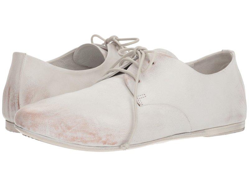 マルセル メンズ オックスフォード シューズ Strapiatta Lace-Up Oxford White