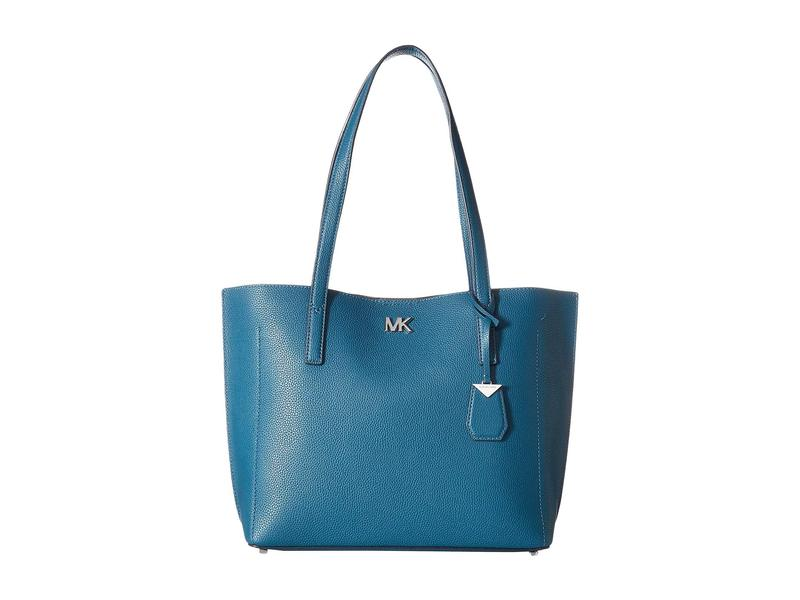 b327742f6921 マイケルコース レディース ハンドバッグ バッグ Ana Medium East/West Bonded Tote Luxe Teal
