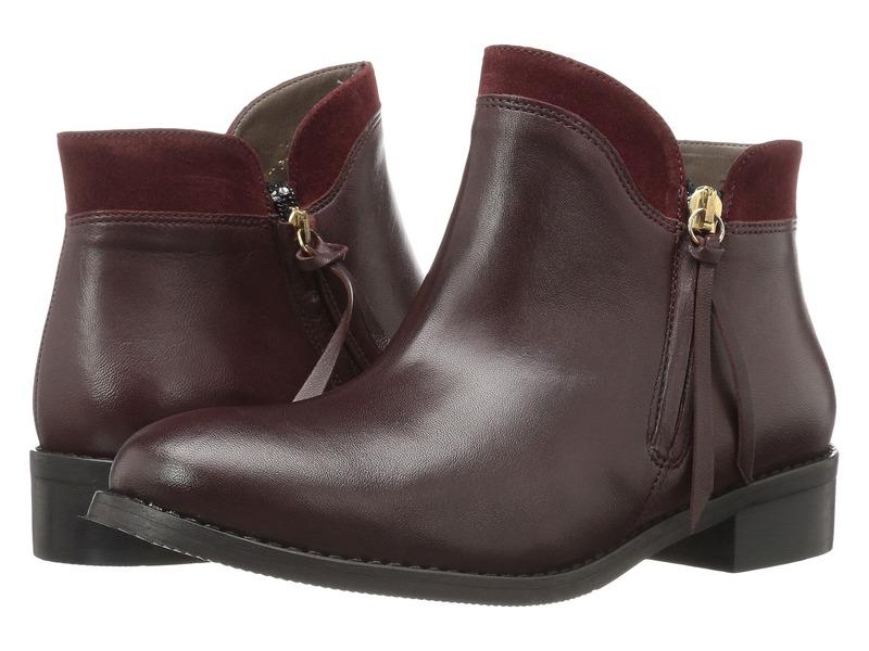 ベラビタ レディース ブーツ・レインブーツ シューズ Dot-Italy Bordeaux Italian Leather/Suede