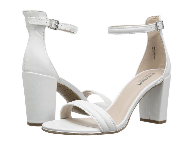 ケネスコール レディース ヒール シューズ Lolita White Leather