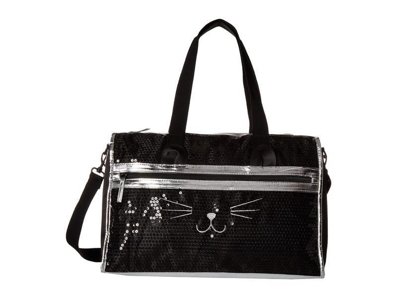 ティーシャツアンドジーンズ レディース ボストンバッグ バッグ Sequin Cat Weekender Black