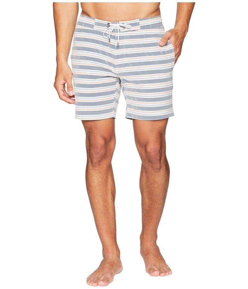 オニア メンズ ハーフパンツ・ショーツ 水着 Alek 7 American Stripe Swim Trunk Multi