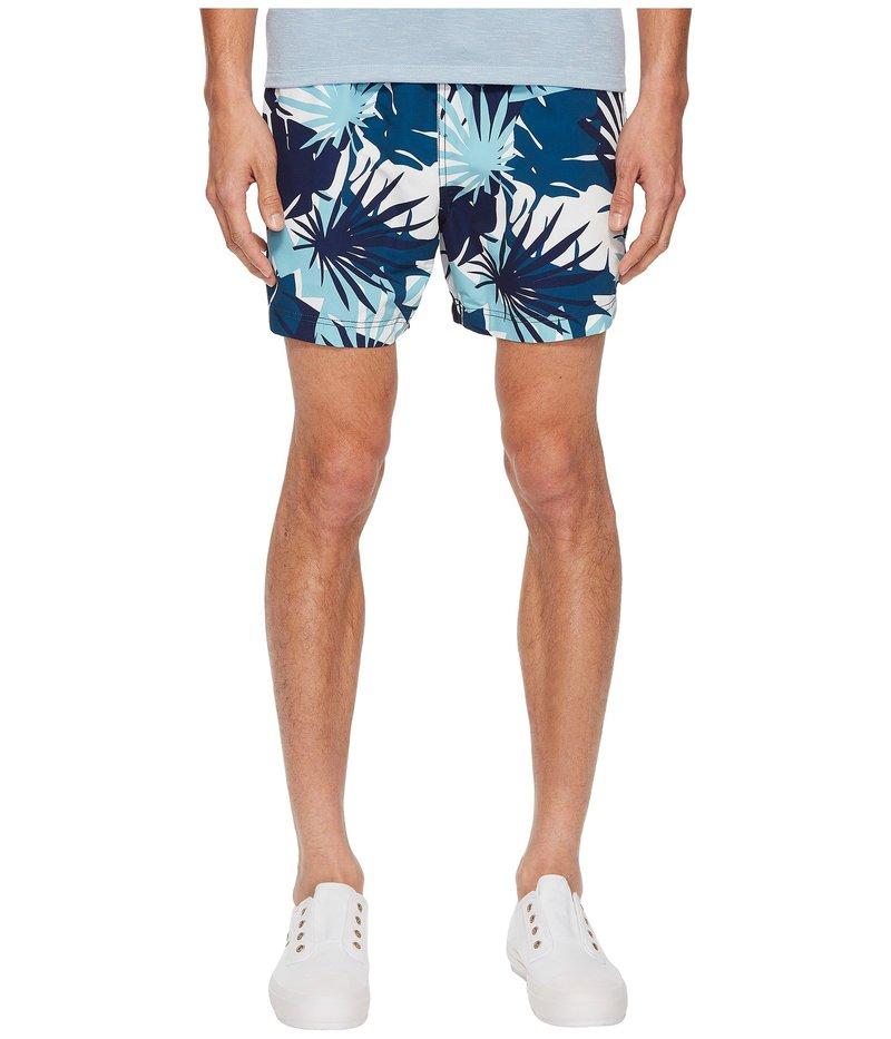 オニア メンズ ハーフパンツ・ショーツ 水着 Charles 5 Cote DAzure Palms Swim Shorts Aegean Sea Multi
