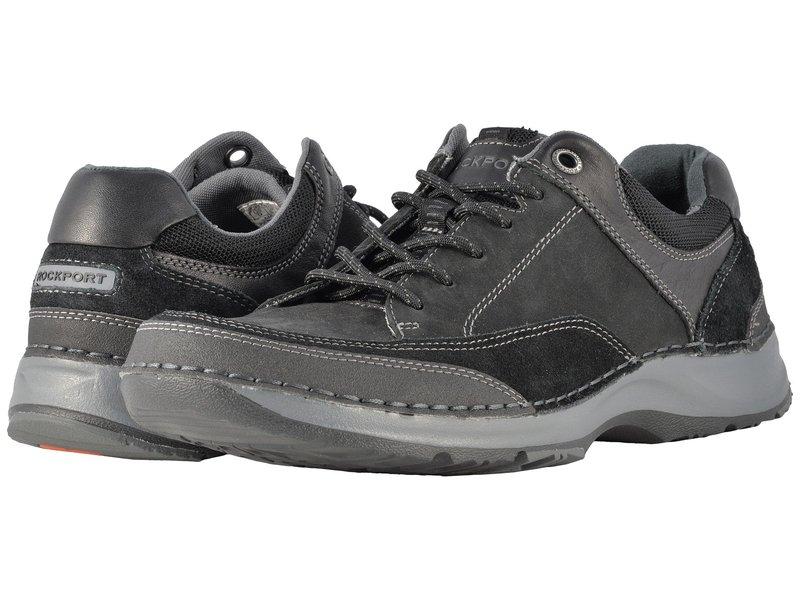 ロックポート メンズ スニーカー シューズ RocSports Lite 5 Lace-Up Black