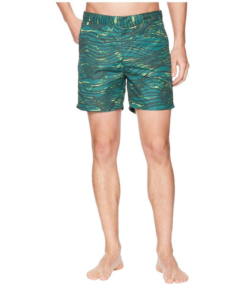 スコッチアンドソーダ メンズ ハーフパンツ・ショーツ 水着 Medium Length Swim Shorts in Sophisticated Patterns Combo E