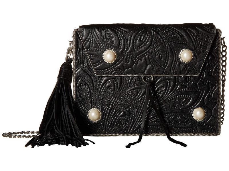サムエデルマン レディース ハンドバッグ バッグ Gianna Iron Boxed Mini Handbag Black