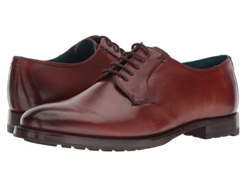 テッドベーカー メンズ オックスフォード シューズ Silice Tan Leather