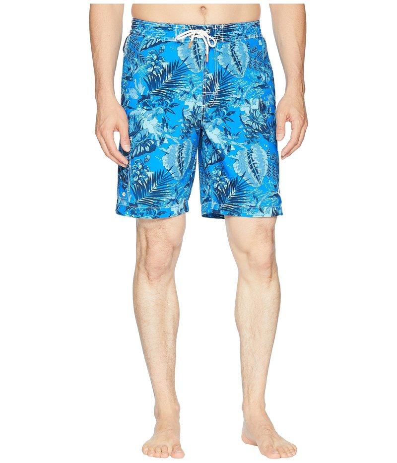 トッミーバハマ メンズ ハーフパンツ・ショーツ 水着 Baja Selva Shores Swim Trunk Blue Spark
