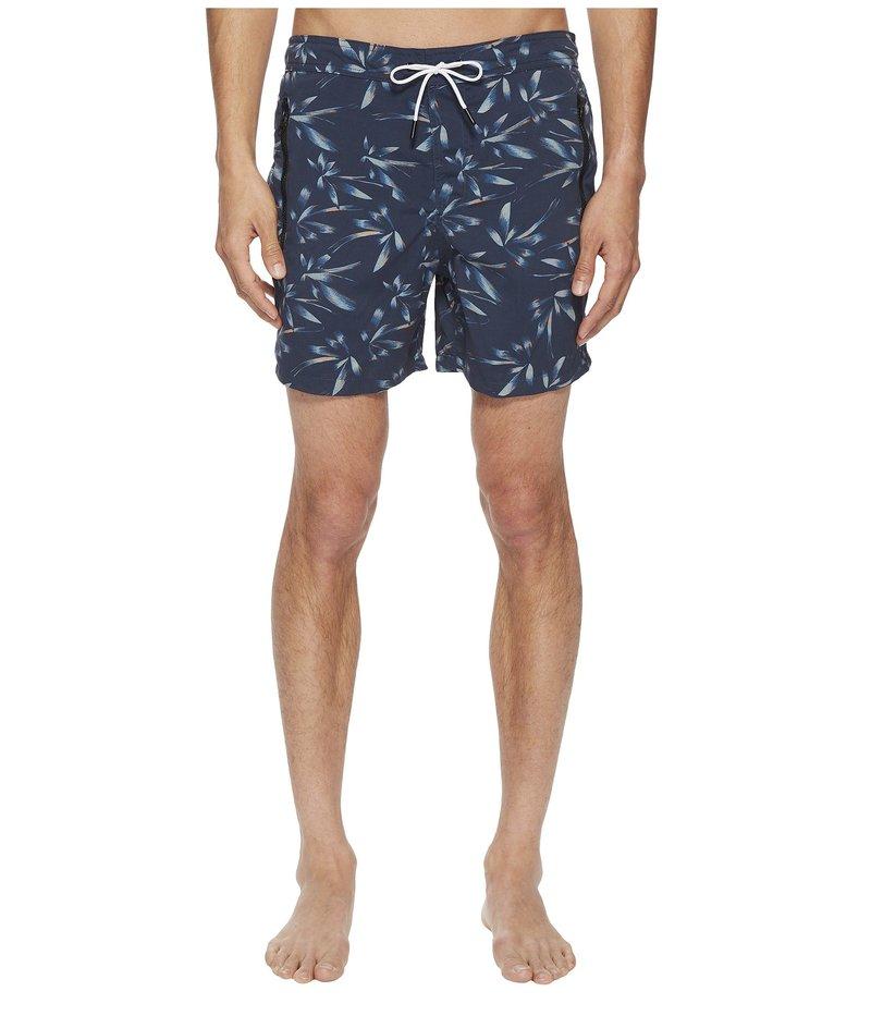 ザ・クープルス メンズ ハーフパンツ・ショーツ 水着 Printed Swim Shorts Blue