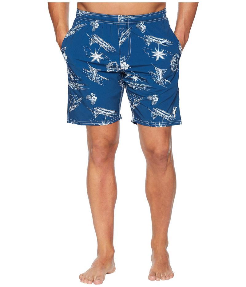 トゥーオンザノーズ メンズ ハーフパンツ・ショーツ 水着 Aloha Cruisin Volley Navy