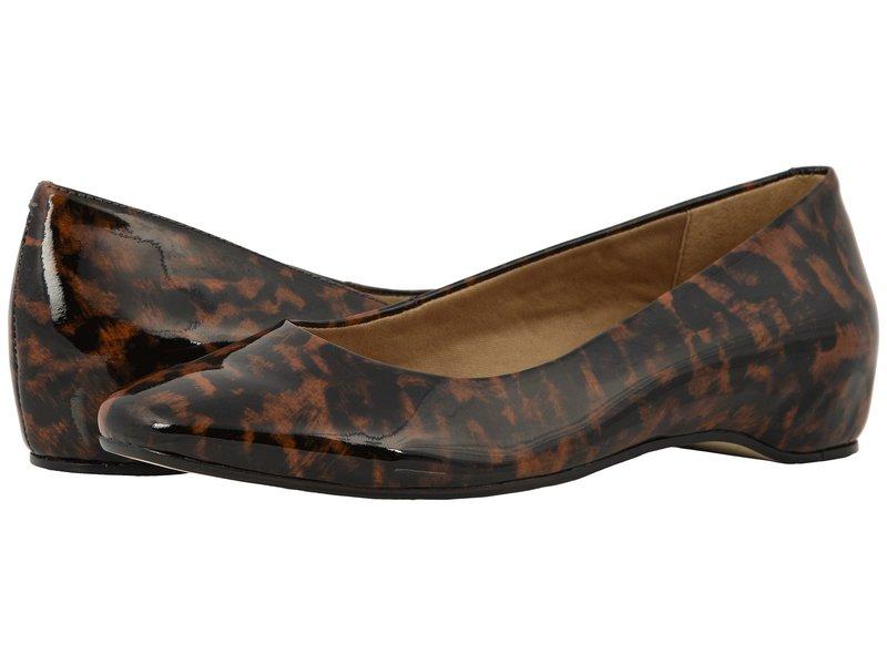 ウォーキング クレイドル レディース サンダル シューズ Pisces Leopard Patent