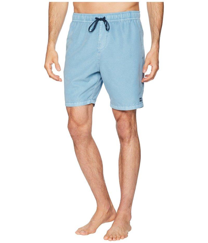 ビラボン メンズ ハーフパンツ・ショーツ 水着 All Day Layback 18 Boardshorts Blue