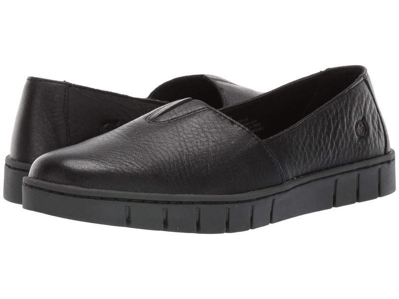 ボーン レディース スリッポン・ローファー シューズ Congo Black Full Grain Leather