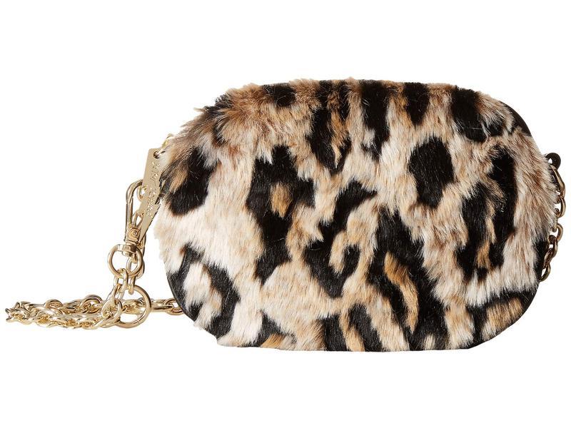 ベッツィジョンソン レディース ハンドバッグ バッグ Faux Fuh Belt Bag Leopard