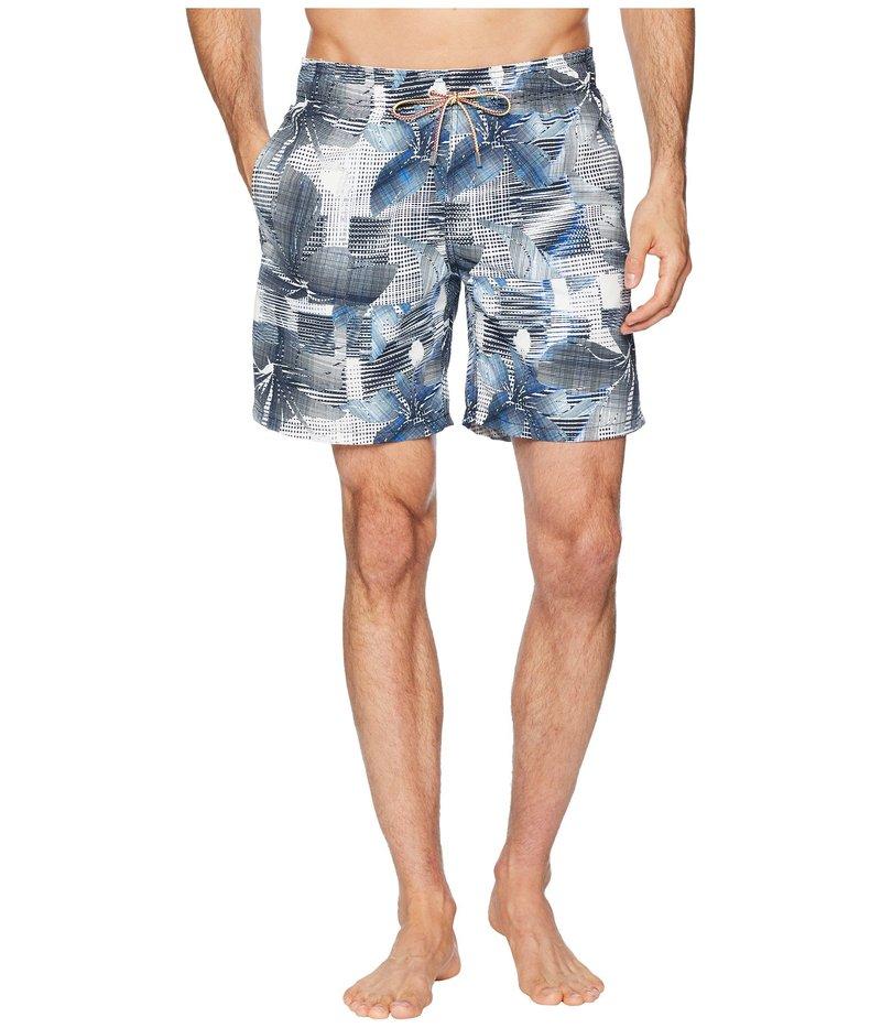 ブガッチ メンズ ハーフパンツ・ショーツ 水着 Modern Floral Swim Trunk Graphite