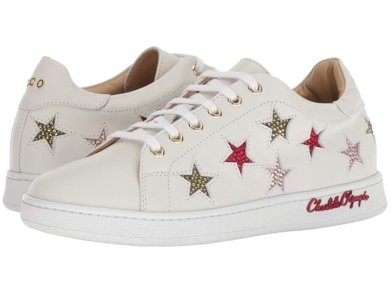 シャーロットオリンピア レディース スニーカー スニーカー Stars シューズ White Stars Sneaker White, 日向市:c7861d67 --- sunward.msk.ru