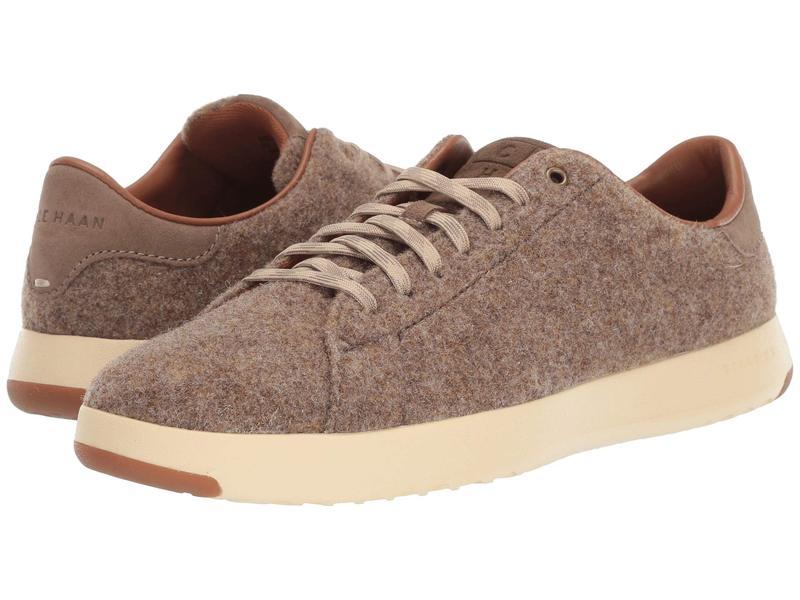 コールハーン メンズ スニーカー シューズ GrandPro Tennis Sneaker Soft Sage Wool/Suede
