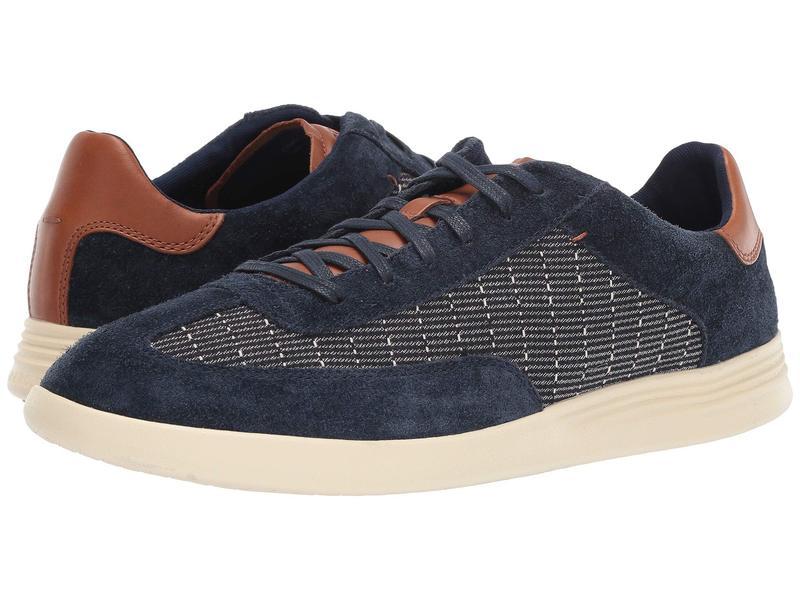 コールハーン メンズ スニーカー シューズ Grand Crosscourt Turf Sneaker Indigo Print/Curds and Whey