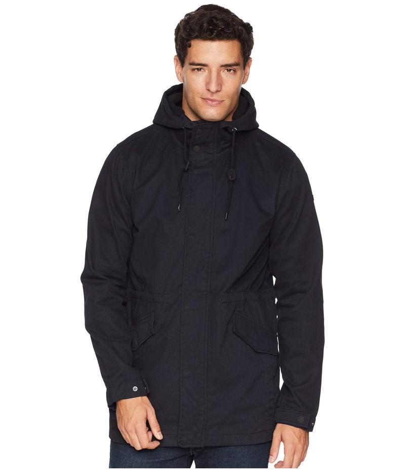 グローブ メンズ コート アウター Goodstock Fishtail IV Jacket Nubuck Black