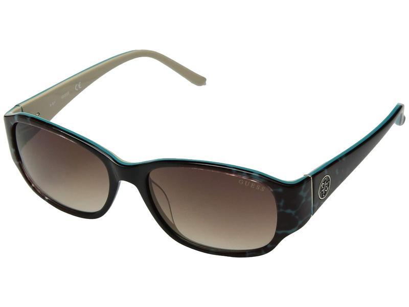 ゲス レディース サングラス・アイウェア アクセサリー GU7436 Turquoise/Other/Gradient Brown